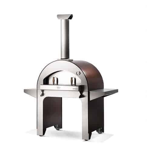 Alfa Forn04 / 4 pizze pizza oven isolated on white