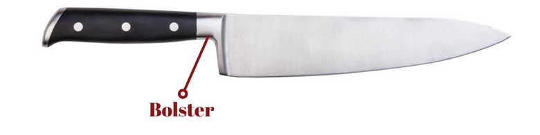 Image showing the bolster of a knife