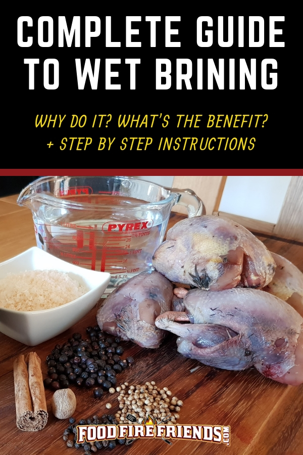 Complete guide to dry brining written above some poultry being prepared for such a process