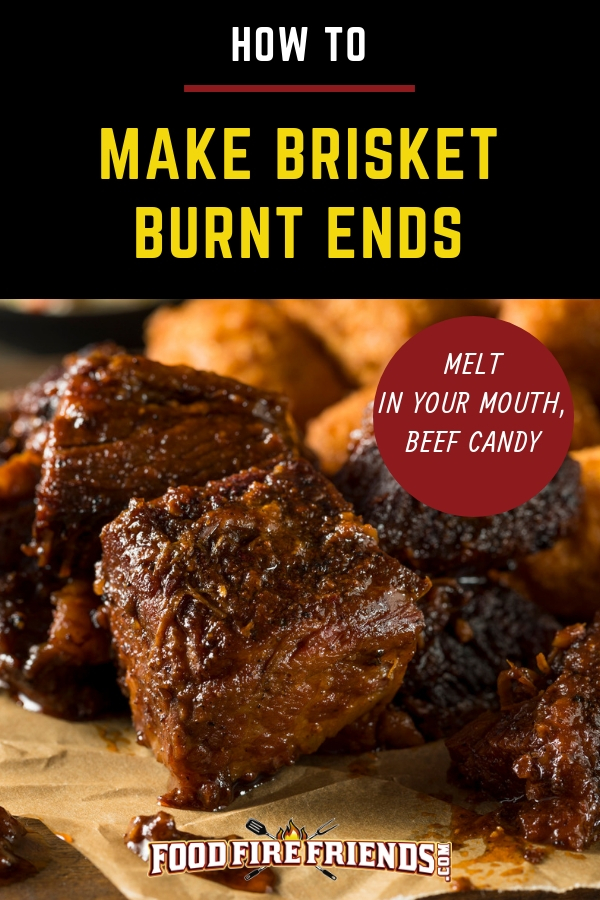 How to make burnt ends written above some burnt ends on butcher paper