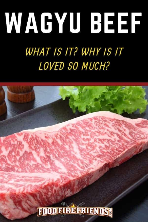 A picture of a wagyu beef sirloin steak on a black surface
