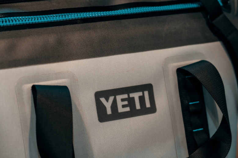 Close up of a yeti soft sided cooler