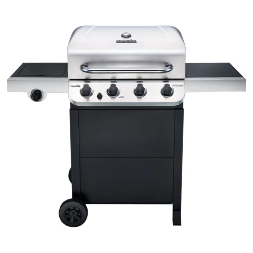 Char broil performance 4 burner gas grill isolated on white