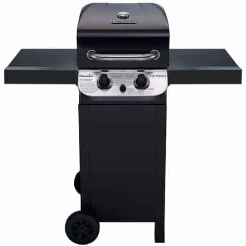 char broil performance 2 burner gas grill isolated on white