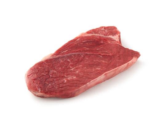 Shoulder Steak isolated on white