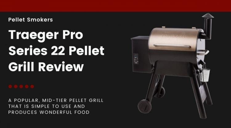 Traeger pro series 22 isolated on black