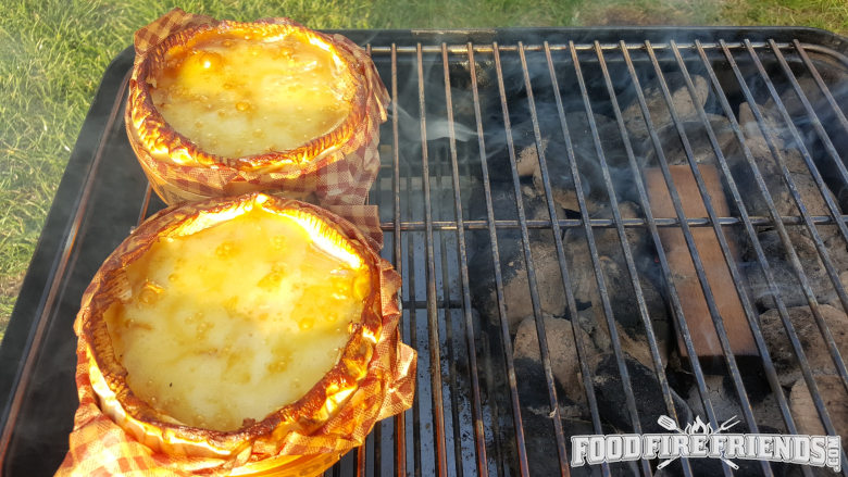 weber go anywhere smoking camembert cheeses
