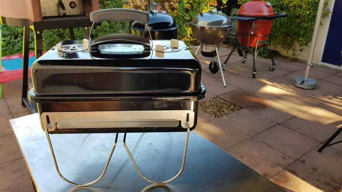Weber go anywhere thin looking wire legs