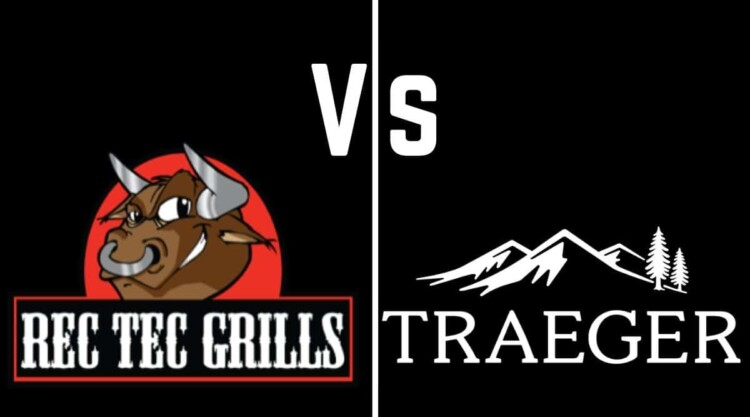 RECT TEC and Traeger logos, either side of