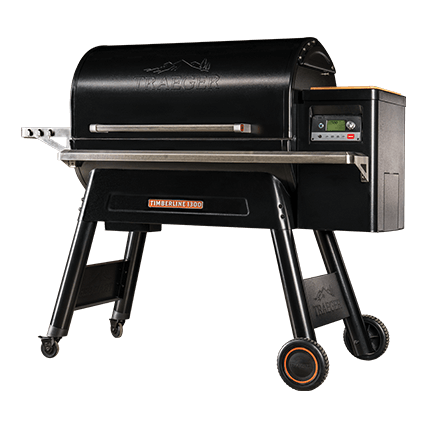 Traeger Timberline series grill isolated on white