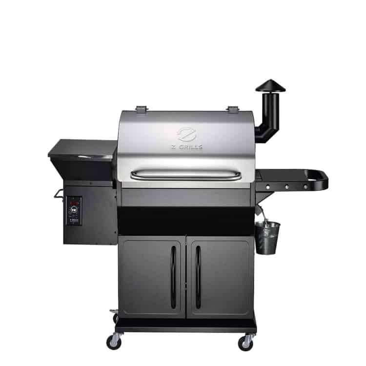 zgrills 1000E from front, isolated on white